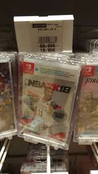Jeu NBA 2K18 sur Nintendo Switch -  Saint Aunès (34)
