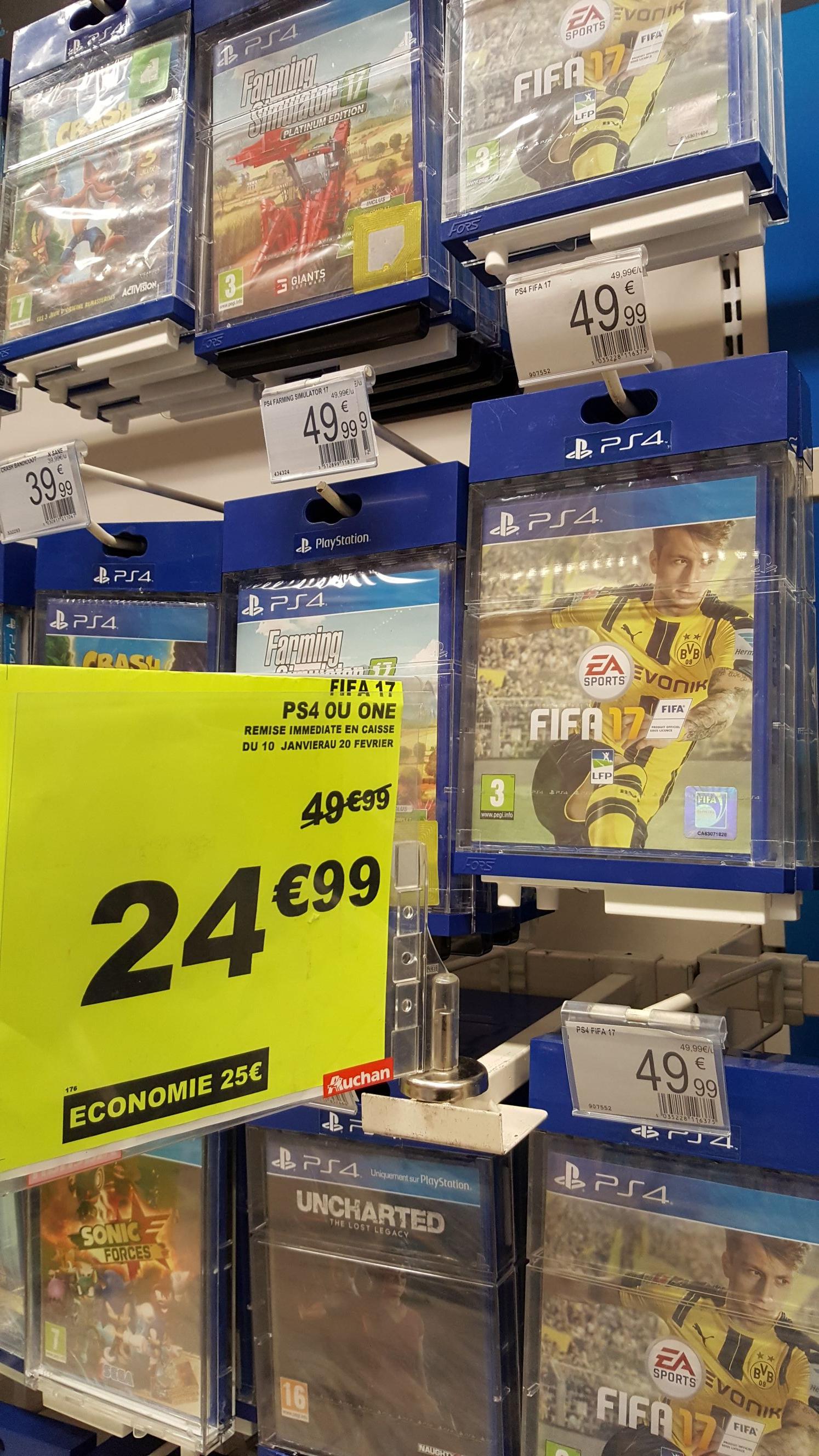Jeu FIfa 17 sur PS4 ou Xbox One - Buchelay (78)