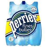 Pack de Perrier Fines Bulles 6x1L (1,86€ sur carte + BDR 0.50€)