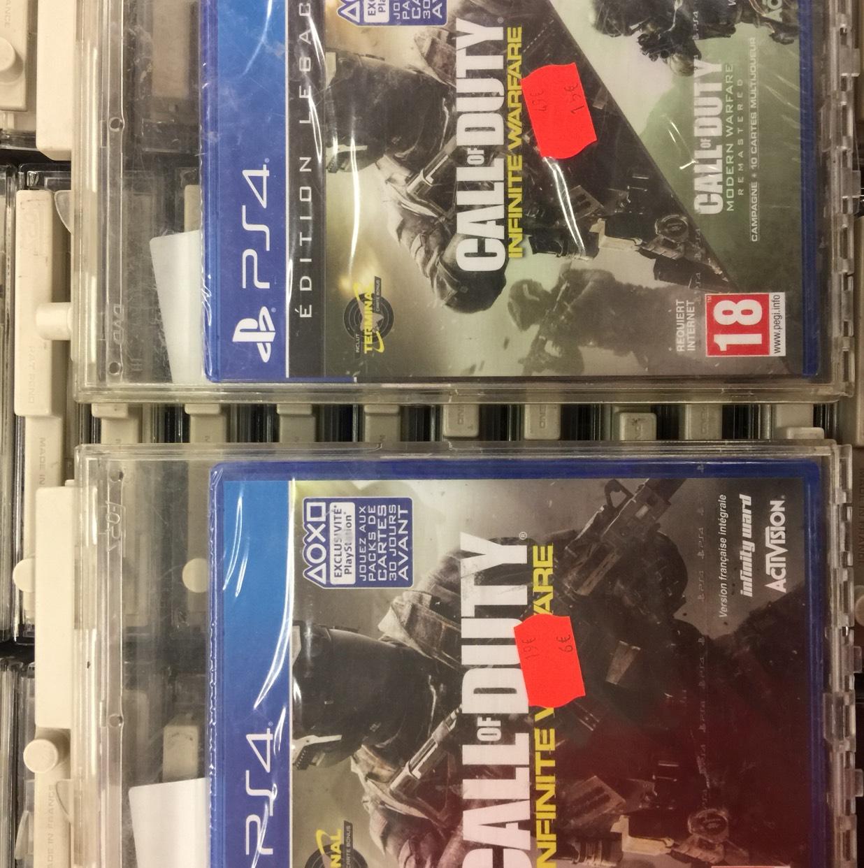 Jeu Call of Duty Infinity Warfare sur PS4 - Noisy Le Grand Les Arcades (93)