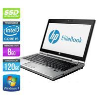 """PC portable 12.5"""" HP EliteBook 2570P - Core i5-3360M, 8 Go RAM, 120 Go SSD, Occasion: Bon Etat (Vendeur tiers)"""