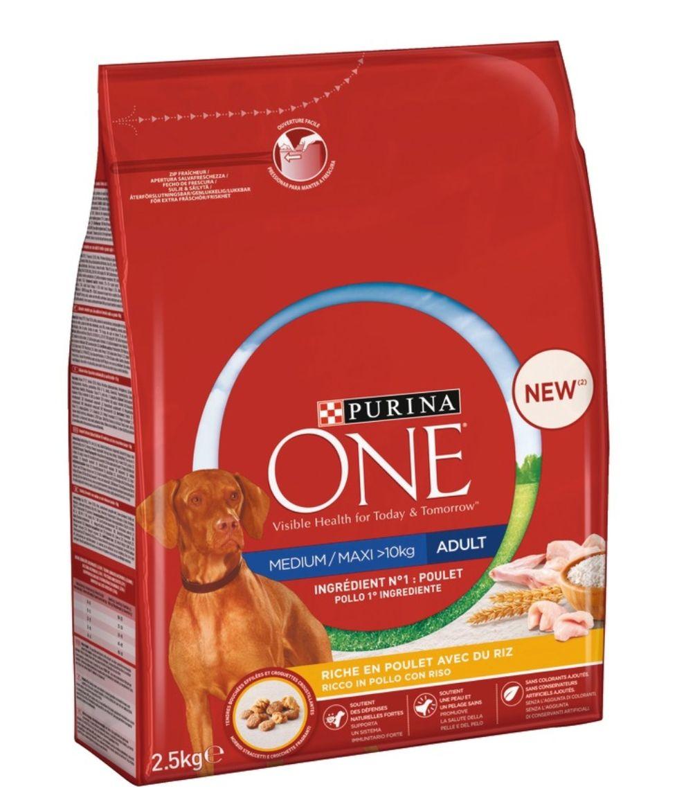 Croquettes pour chien Purina One Adulte - 2.50 kg