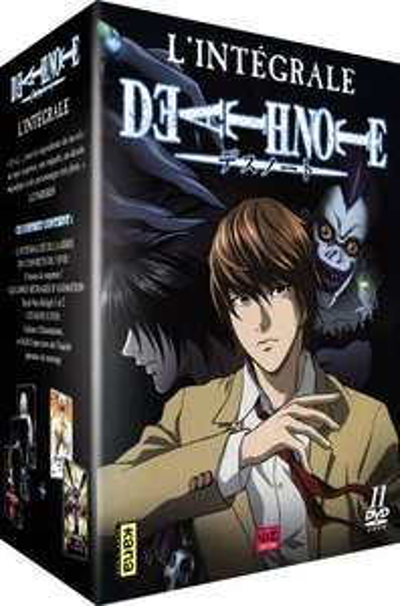 Coffret 11 DVD Intégrale Death Note (La série + 2 films)