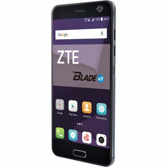 """Smartphone 5.2"""" ZTEBlade V8 - Full HD, 3 Go RAM, 32 Go, Gris ou Or (Via ODR 70€)"""