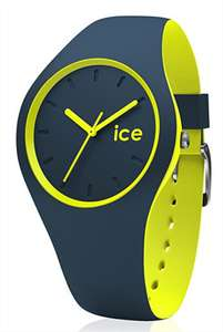 Montre Ice Watch Ice Duo - Silicone, 38mm, Bleu pétrole