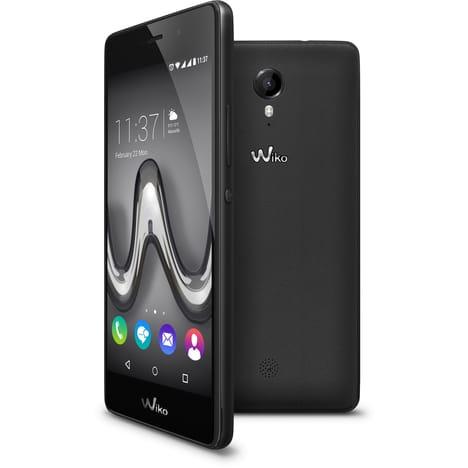 """Smartphone 5"""" Wiko Tommy - 4G, HD, 8 Go, 1 Go RAM + Accessoires (Coque, folio et verre trempés)"""