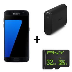 "Smartphone 5.1"" Samsung Galaxy s7 + Batterie Microsoft 5200mAh + Carte microSD PNY 32Go (via ODR 70€)"