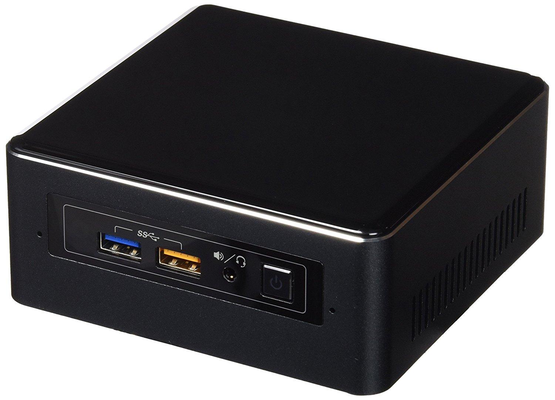 Mini PC Intel NUC NUC7I3BNH - Fanless, i3 7100U, Sans RAM ni HDD