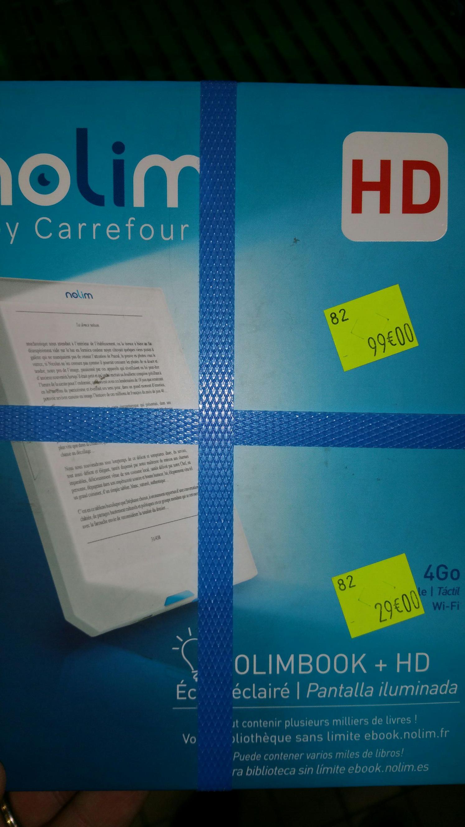 """Liseuse 6"""" Tactile NOLIM Nolimbook + HD 4Go - La Roche-sur-Yon (85)"""
