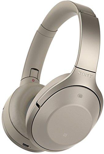 Casque Bluetooth à réduction de bruit Sony MDR-1000X - Champagne