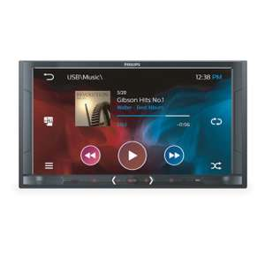 Autoradio audio/vidéo Philips CE600BT - Bluetooth - Double DIN 6,8