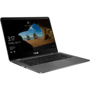 "PC Hybride 14"" Asus Zenbook UX461UA-E1026T - FullHD Tactile, i7-8550U, 256Go SSD, 8Go de RAM, Windows 10"