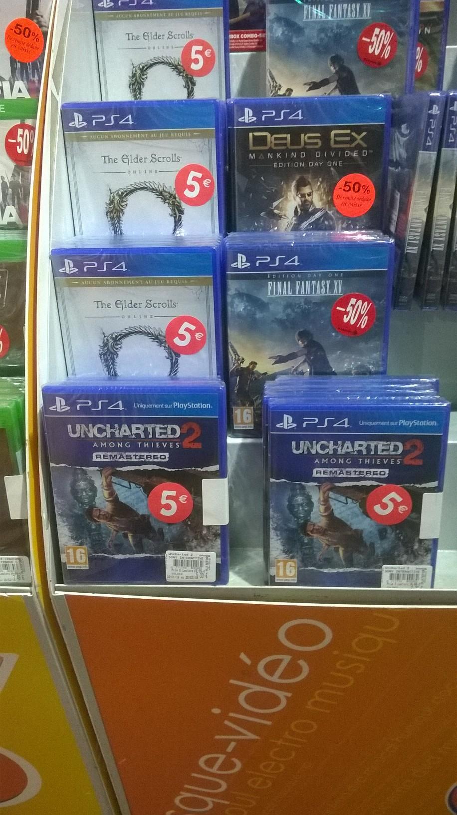 Jeu Uncharted 2 : Among Thieves sur PS4 - Olivet(45)