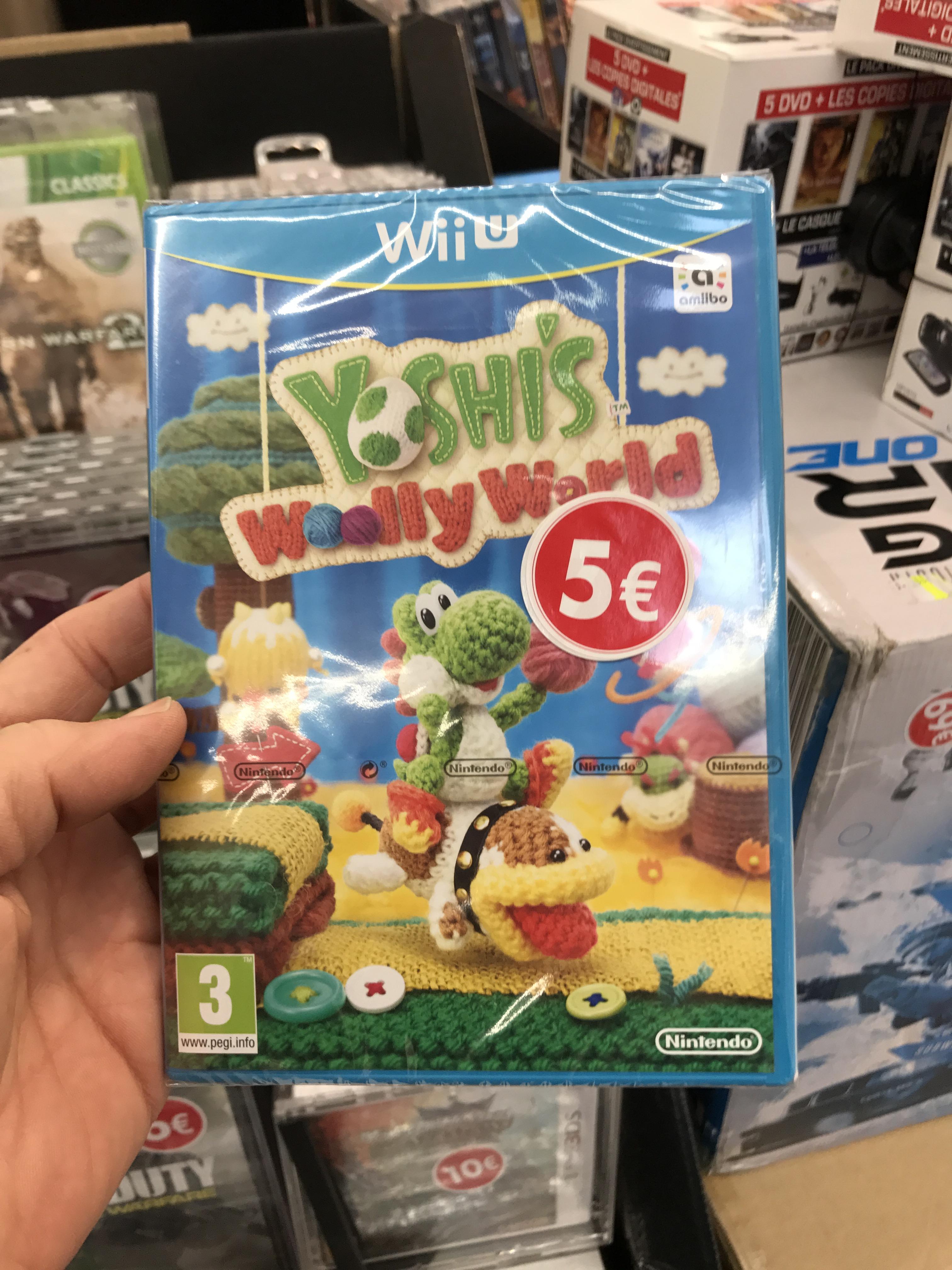 Jeu Yoshi Wooly World sur Wii U - Villeneuve la Garenne (92)