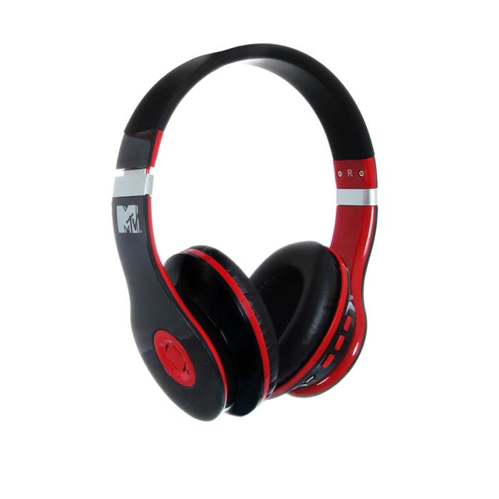 Casque Bluetooth MTV 1773 - Rouge