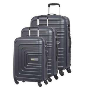 Lot de 3 valises 4 roues ABS American Tourister Sunset Square (55, 67, 77 cm)