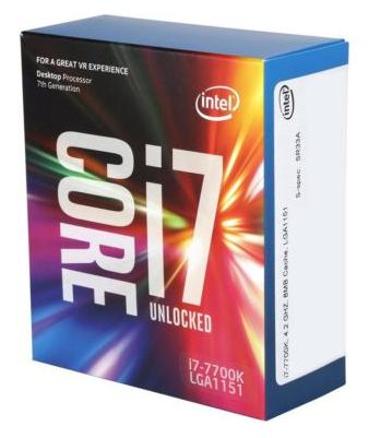 Processeur Intel Core i7-7700K - 4.2 GHz