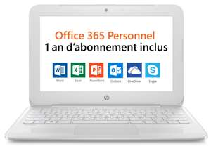 "PC Portable 11"" HP Stream 11-Y001NF - Intel N3060, 2 Go de Ram, 32 Go eMMC"