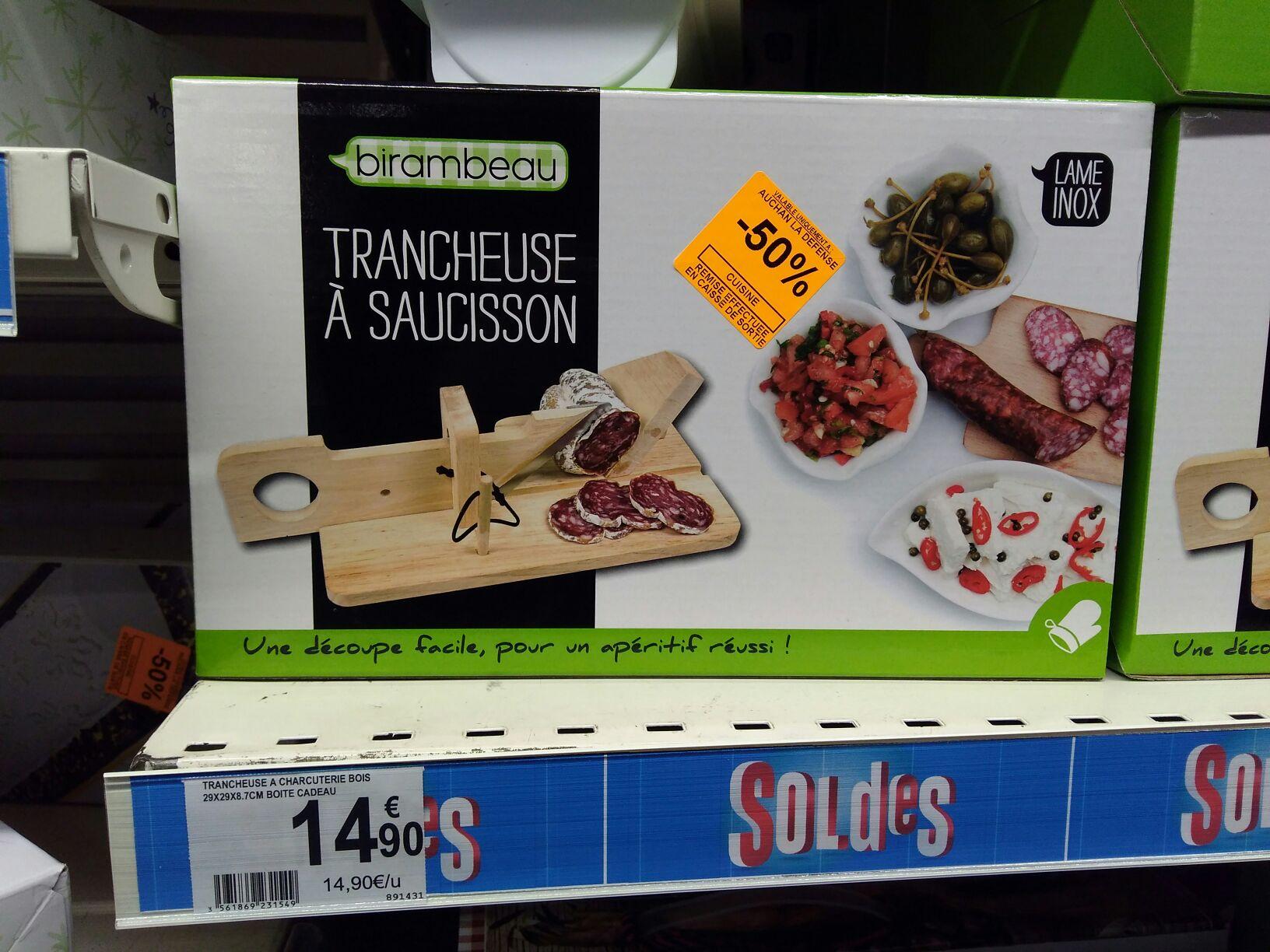 Trancheuse à saucisson Birambeau - Auchan la Défense (92)