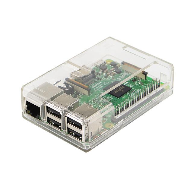 Boitier de protection ABS transparent pour Raspberry Pi 3 B