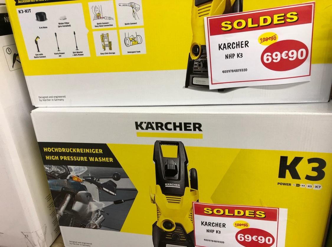 Nettoyeur haute pression Karcher K3 - Leclerc Saint Orens (31)