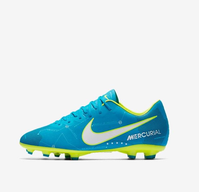 Chaussures de foot pour enfants Nike Mercurial Vapor XI FG NJR Written in the Stars - Bleu/Blanc/Bleu