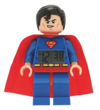 Réveil enfant Lego Superman