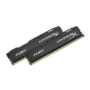 Kit mémoire DDR4 HyperX 8 Go (2x4Go) - 2666MHz, 1.2V, 288-pin, CL15