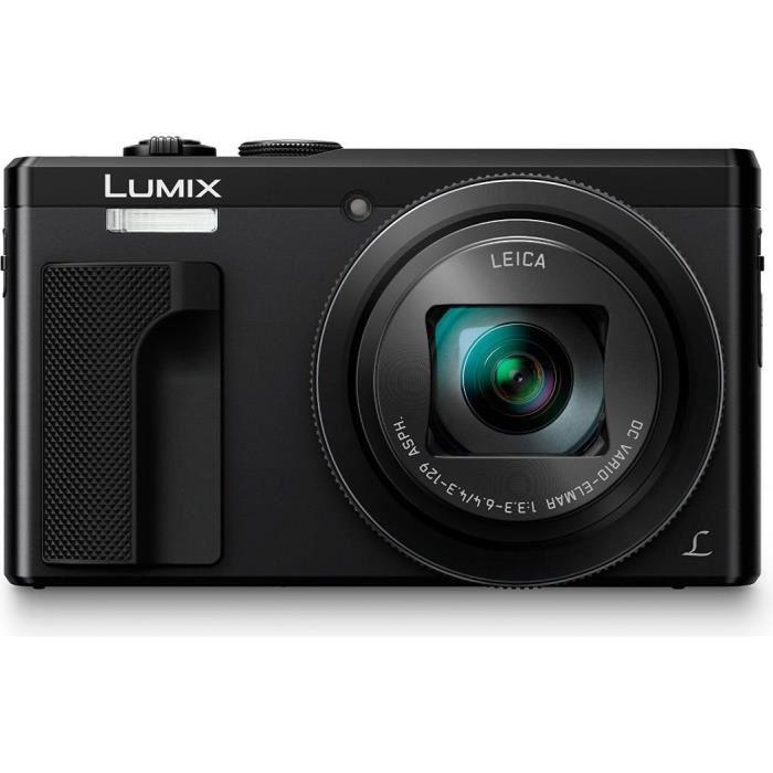 Appareil photo numérique compact Panasonic Lumix DMC-TZ80 - 18 Mpix, full HD, zoom x30