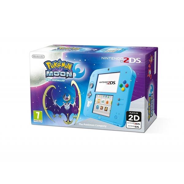 Console Nintendo 2DS + Pokemon lune