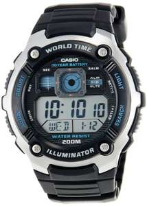 Montre Homme Digitale Casio Collection AE-2000W-1AVEF avec Bracelet en Résine