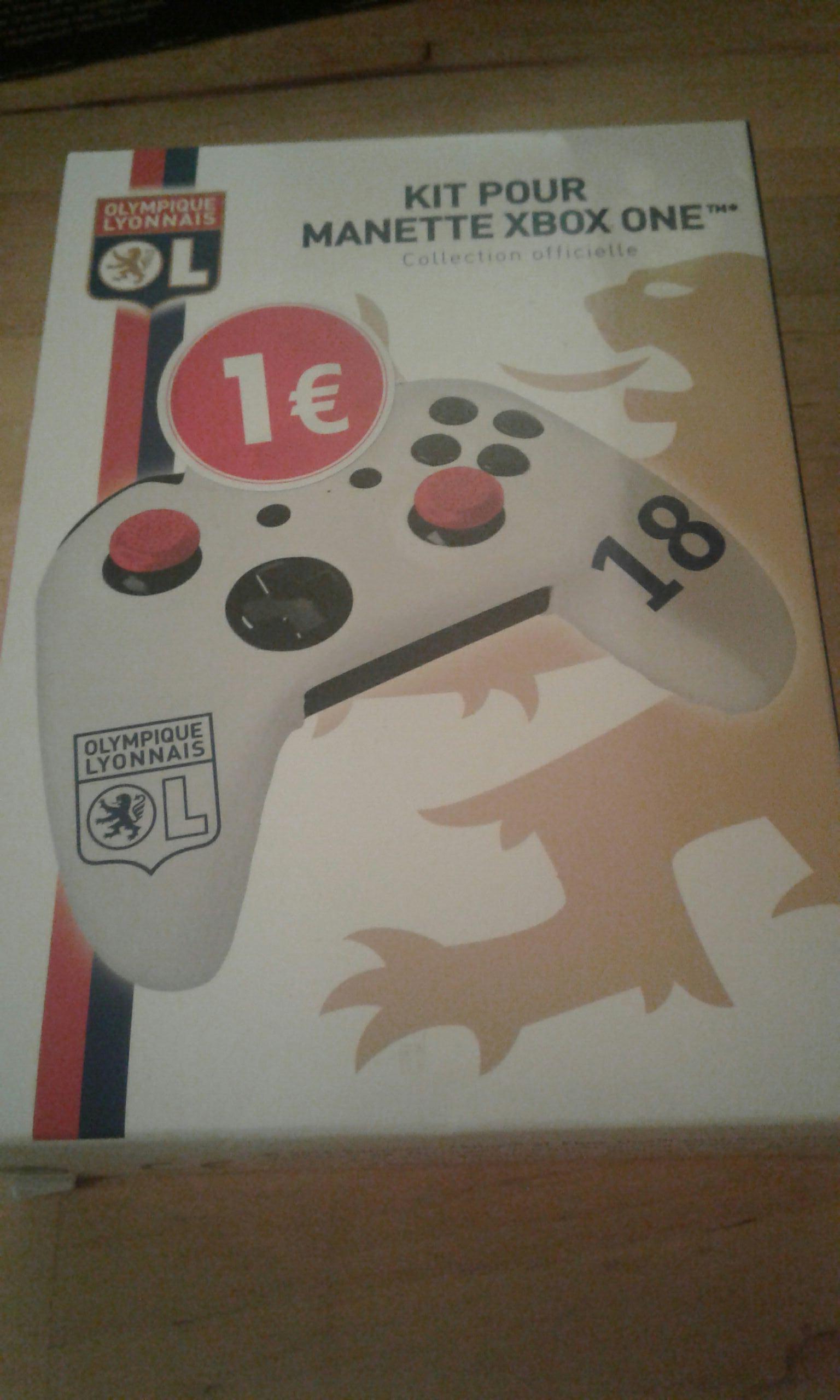 Protection manette Xbox One olympique lyonnais - Carrefour Lyon Part-dieu (69)