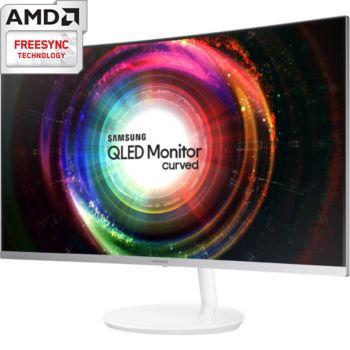 "Ecran PC 32"" Samsung LC32H711 - 2K, QLED, Incurvé, Freesync"