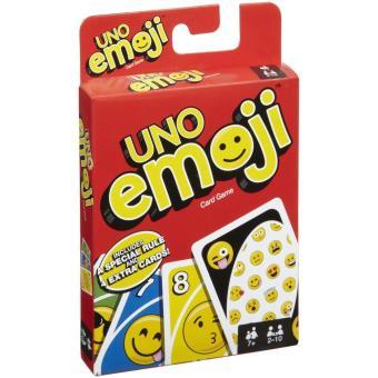 Jeu Mattel Uno Emoji