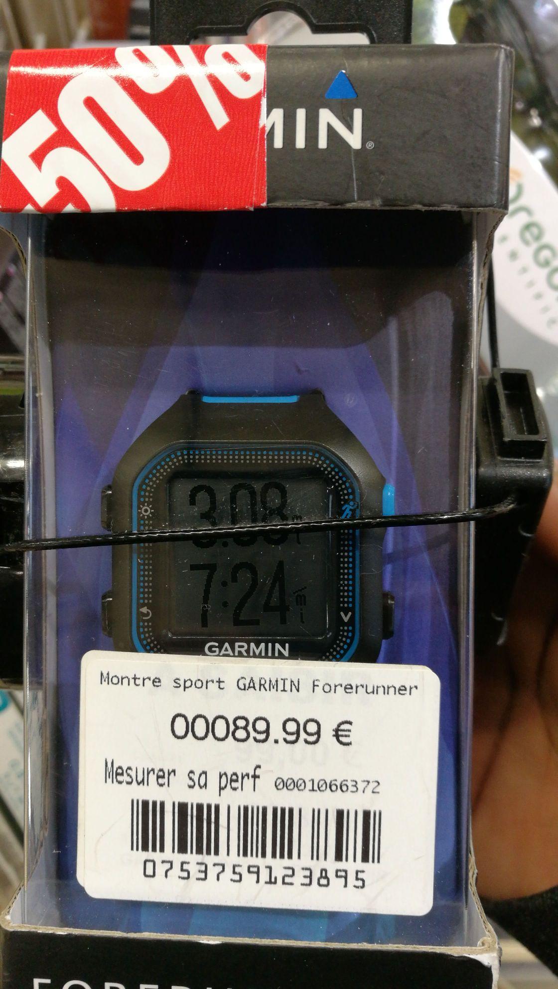 Montre GPS Garmin Forerunner 25 - Montévrain (77)
