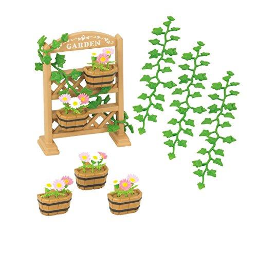 [Panier Plus] Jouet Sylvanian Families - Set de décoration florale et jardinières