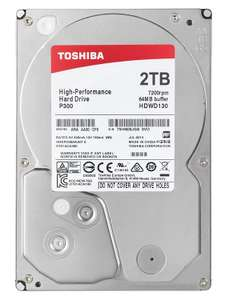 "Disque dur interne 3.5"" Toshiba P300 - 2 To, 7200 TPM"