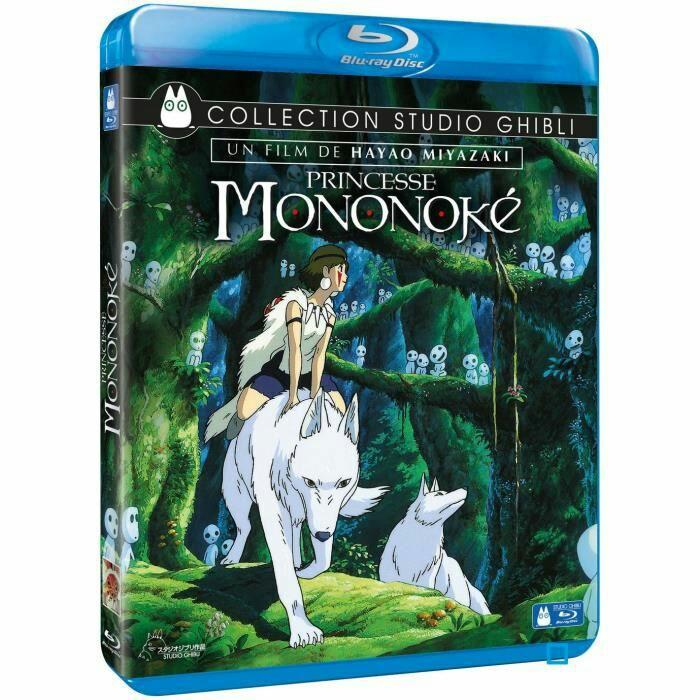 Sélection de Blu-ray Ghibli en promotion- Ex : Princesse Mononoké