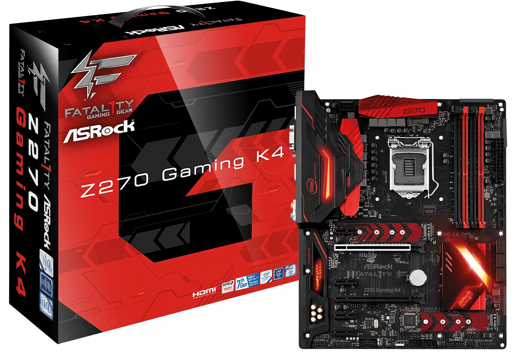 Carte mère ASRock Fatal1ty Z270 Gaming K4