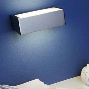 Applique LED Inspire Design r7s Luban - Métal Chromé