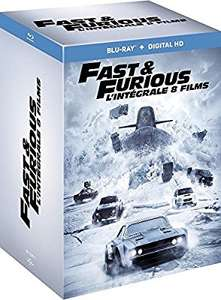 Fast and Furious - L'intégrale 8 films en blu-ray