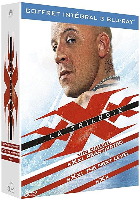 xXx, la trilogie en blu-ray