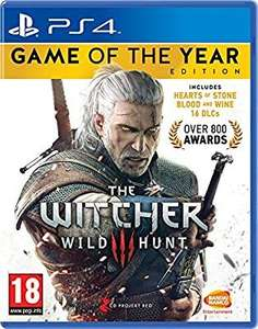 The Witcher 3 : Wild Hunt - Game Of The Year Edition PS4 et Xbox one