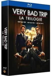 Sélection de coffrets blu-ray en promo - Ex :Coffret Very bad trip