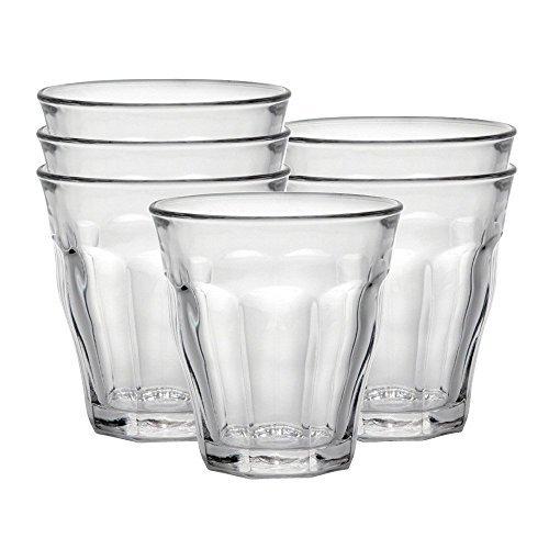 [Panier Plus] Lot de 6 verres à eau de 16cl duralex