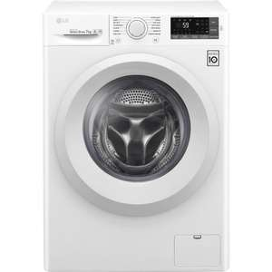 Lave-linge frontal à induction LG F74J53WH - 7kg, 1400 trs/min, A+++, Direct Drive