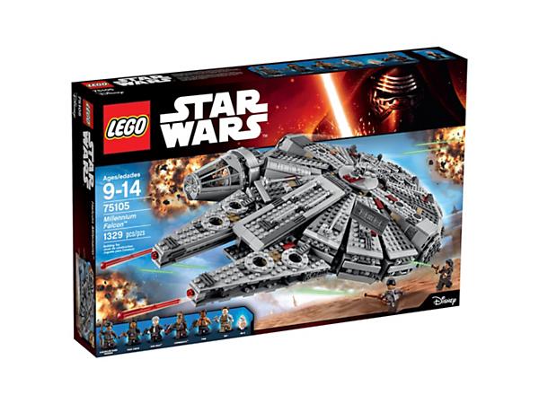 Sélection de jouets Lego en promo - Ex : Millennium Falcon