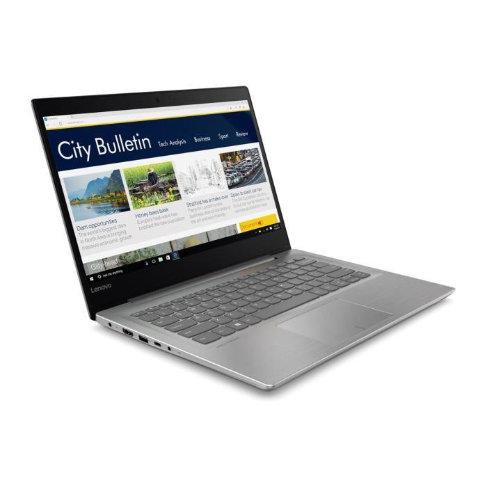 "PC Portable 14"" Lenovo IdeaPad 320S-14IKB - i5-7200U, 4 Go de RAM, 128 Go en SSD"