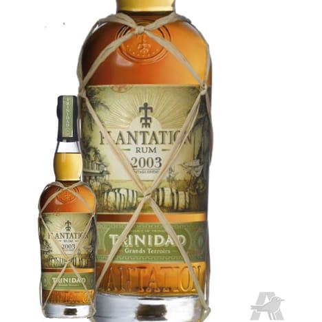 Sélection de bouteilles d'alcool en promo - Ex : : Bouteille de Rhum Plantation Trinidad 2003