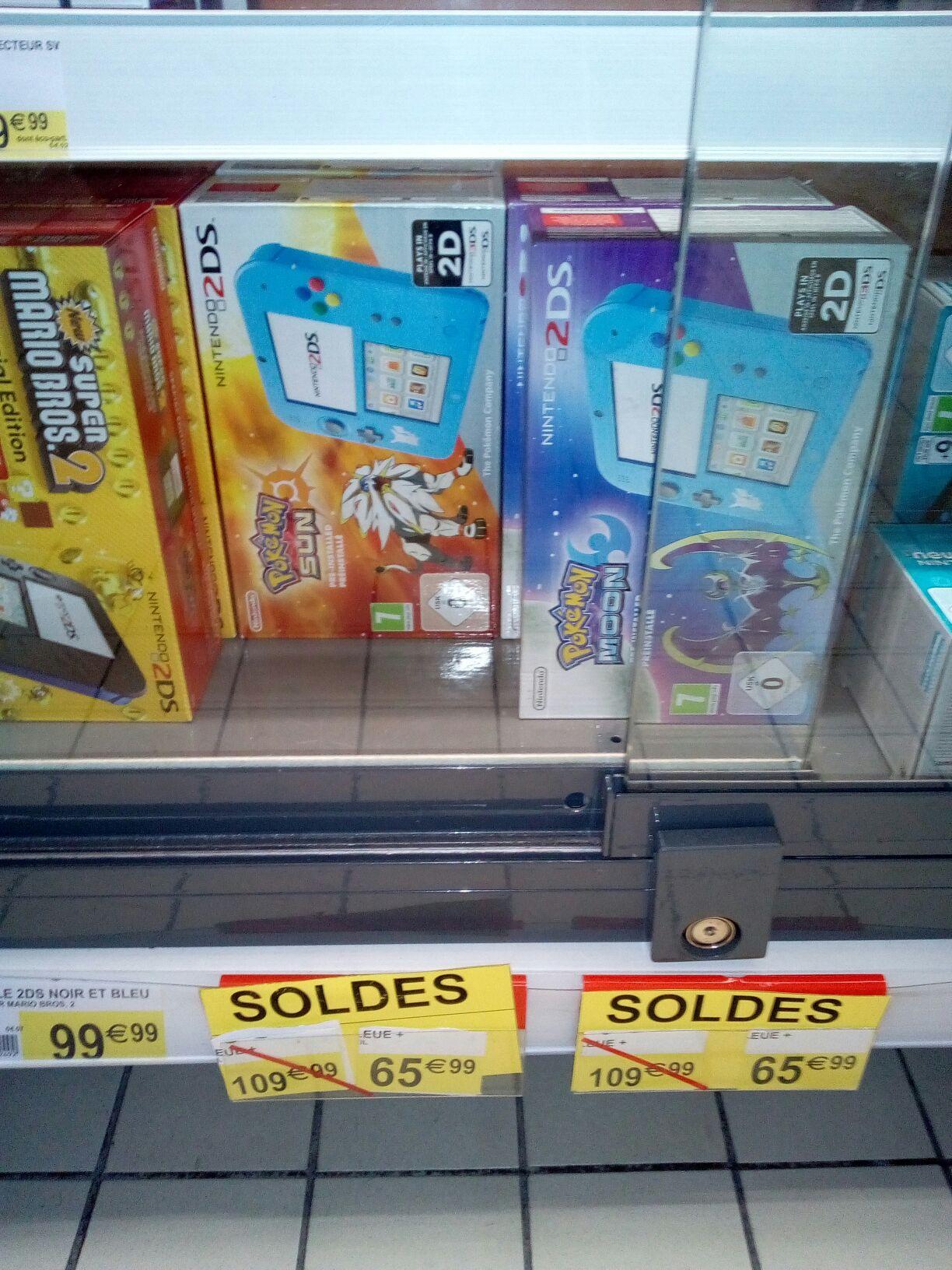 Console Nintendo 2DS édition spéciale + Pokémon : Lune ou Soleil au Saint-Dizier (52)